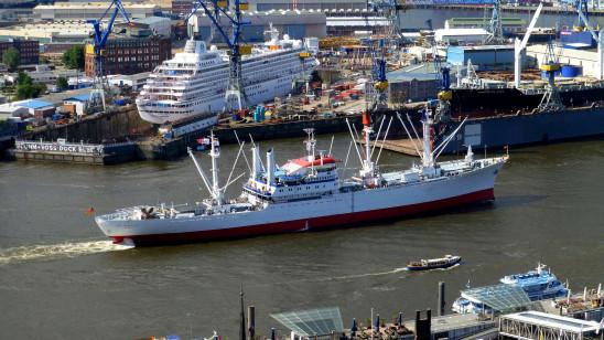 Sendungsbild: Große Pötte und schwere Lasten – Malochen im Hamburger Hafen