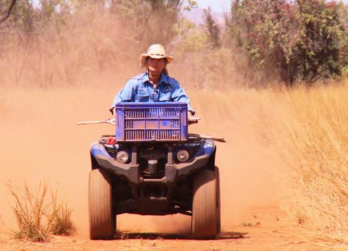 Sendungsbild: Allein im Outback