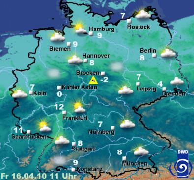 Sendungsbild: Das Wetter im Ersten