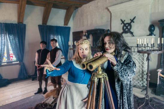 Sendungsbild: Prinz Himmelblau und Fee Lupine