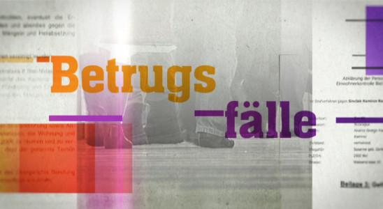 Sendungsbild: Betrugsfälle