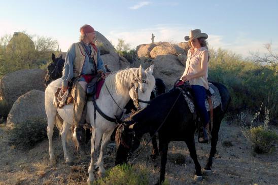 Sendungsbild: Zwei im Wilden Westen