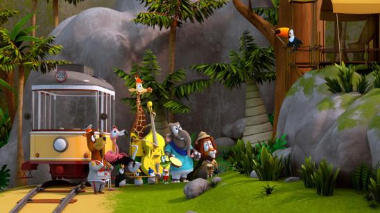 Sendungsbild: Zacki und die Zoobande