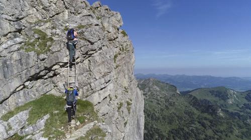 Klettersteig Hindelang : Hindelanger klettersteig solvitur ambulando