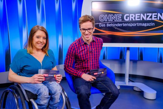 Sendungsbild: OHNE GRENZEN – das Behindertensport Magazin