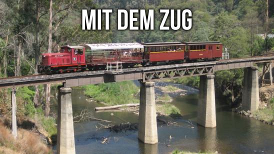 Sendungsbild: Mit dem Zug entlang ...
