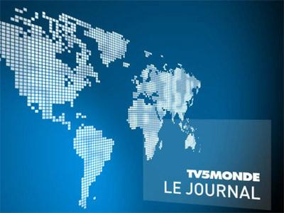 Sendungsbild: TV5MONDE, le journal