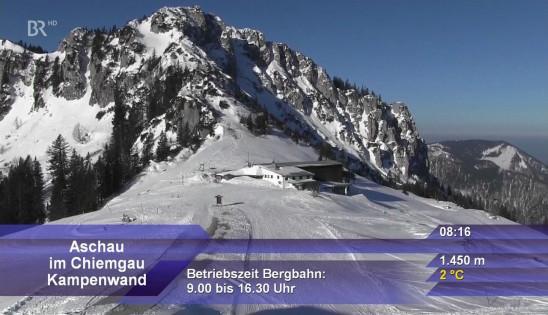 Sendungsbild: Panoramabilder / Bergwetter