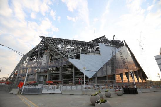 Sendungsbild: Mega-Bauten – Atlantas Super-Stadion