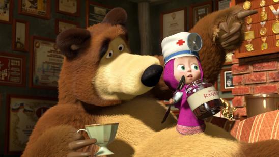 Sendungsbild: Mascha und der Bär